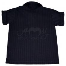 Camiseta polo manga curta azul marinho - 3 anos