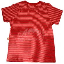 Conjunto em malha camiseta e short - 1 ano