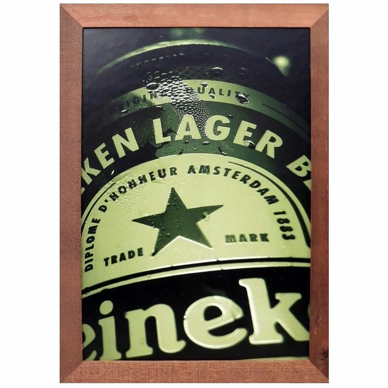 Heineken- Quadros Retrô