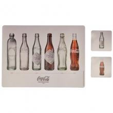 Garrafas Coca-Cola - Jogo Americano