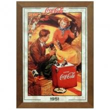 Coca-Cola 1951 - Quadros Retrô