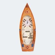 Barco - Relógio de Parede em Formato de Barco