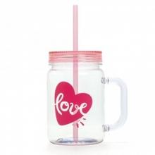 Love Flamingos - Caneca Pote