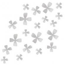 Wallflower - Conjunto Decorativo para Parede (25 peças)