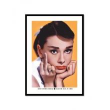 Audrey Hepburn - Poster com Moldura