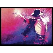 Michael Jackson - Poster com Moldura