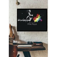 Pink Floyd - Poster com Moldura
