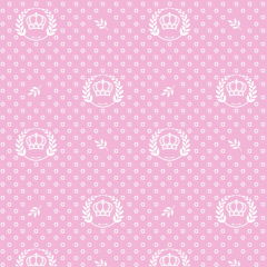Tricoline Coroas Poás P1169-81 Rosa