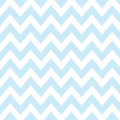 Tricoline 100% algodão Zig Zag Chevron Azul DX1676-16