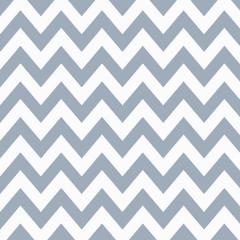 Tricoline 100% algodão Zig Zag Chevron Cinza DX1676-11