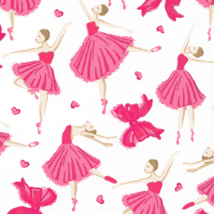Tricoline Bailarinas Rosa 1