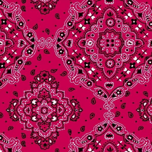 Tricoline Bandana Pink DX2272-08 - Bandanas