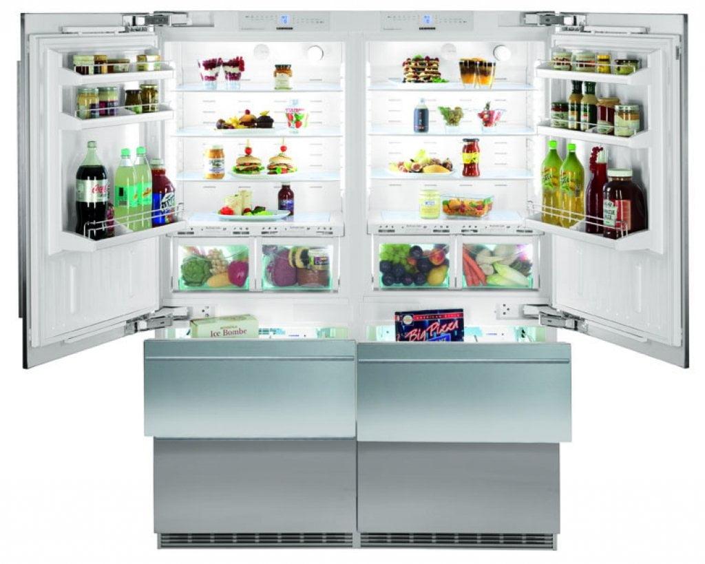 Refrigerador de Embutir Porta Revertível 800L Liebherr 127 V