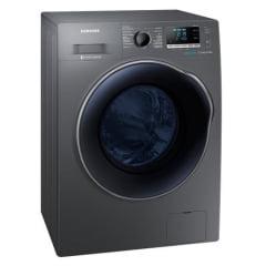Lava e Seca Samsung WD11J6410AX 11Kg Ecobubble 14 Programas de Lavagem Inox 110V