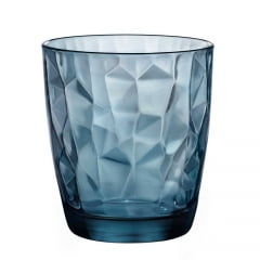 Copo Para Whisky Diamond Bormioli Azul 390ml
