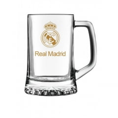 Caneca Maxim 280ml Real Madrid Logo Ouro