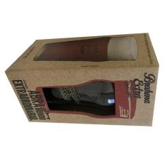 Copo Brahma Extra Red Lager para Cerveja 470ml