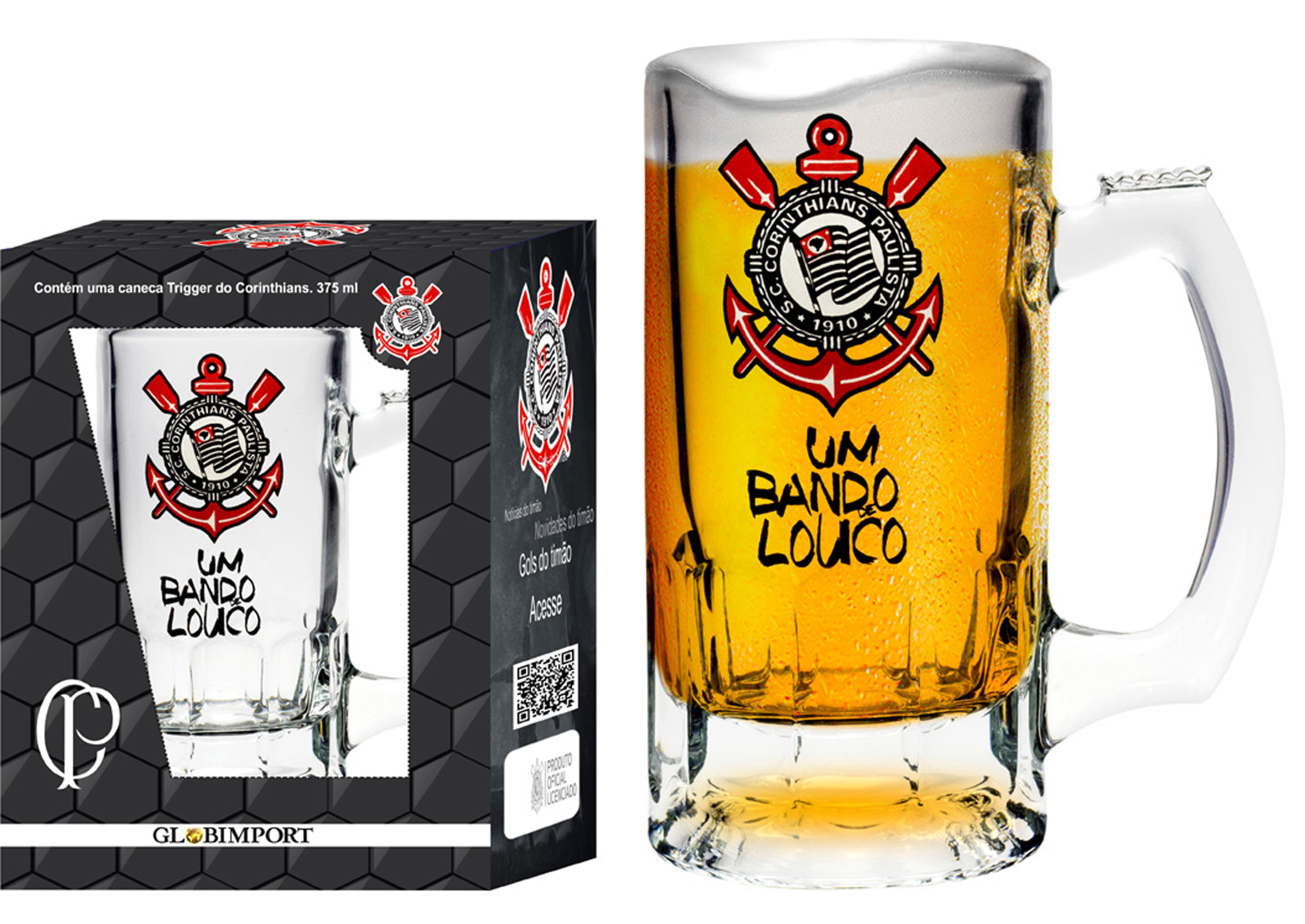 Caneca Trigger Corinthians Bando de Louco 375ml