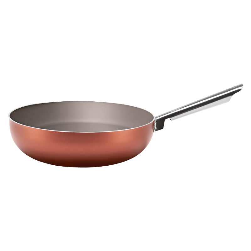 Wok Curry 28x8 cm Cobre Brinox