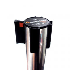 * Pedestal Organizador, Demarcador, Divisor Modelo Neon Alumínio Cromado (cx. 3 unid.)