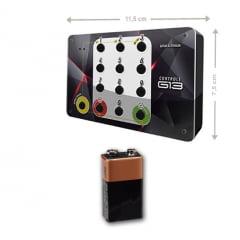 Painel Eletrônico de Chamada de Senha Sequencial com controle sem fio 70 X 15 CM
