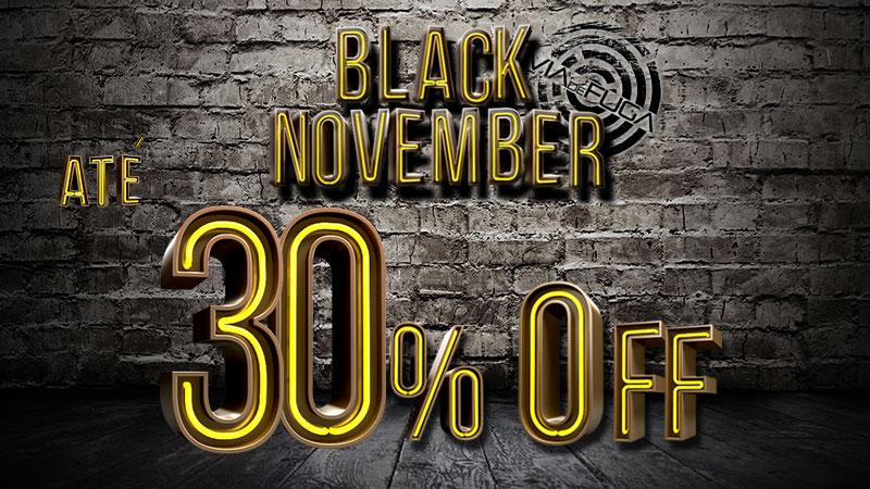 Black November 30%off