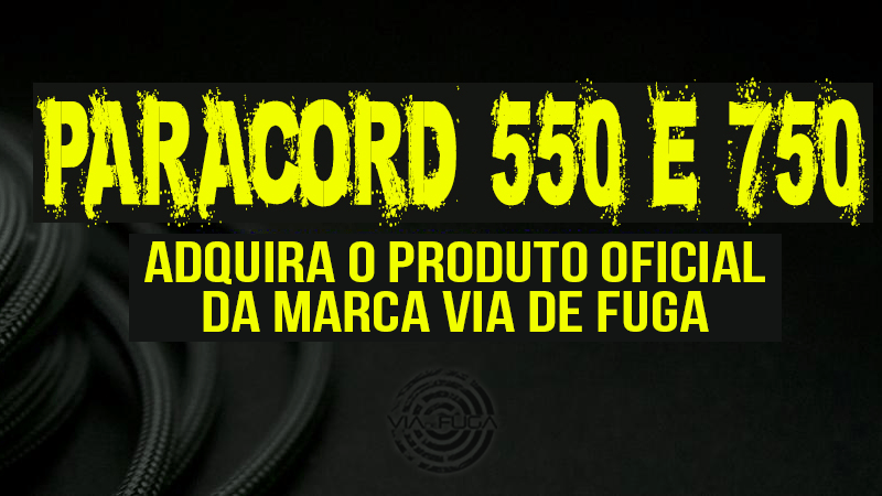 Paracord 550 e 750