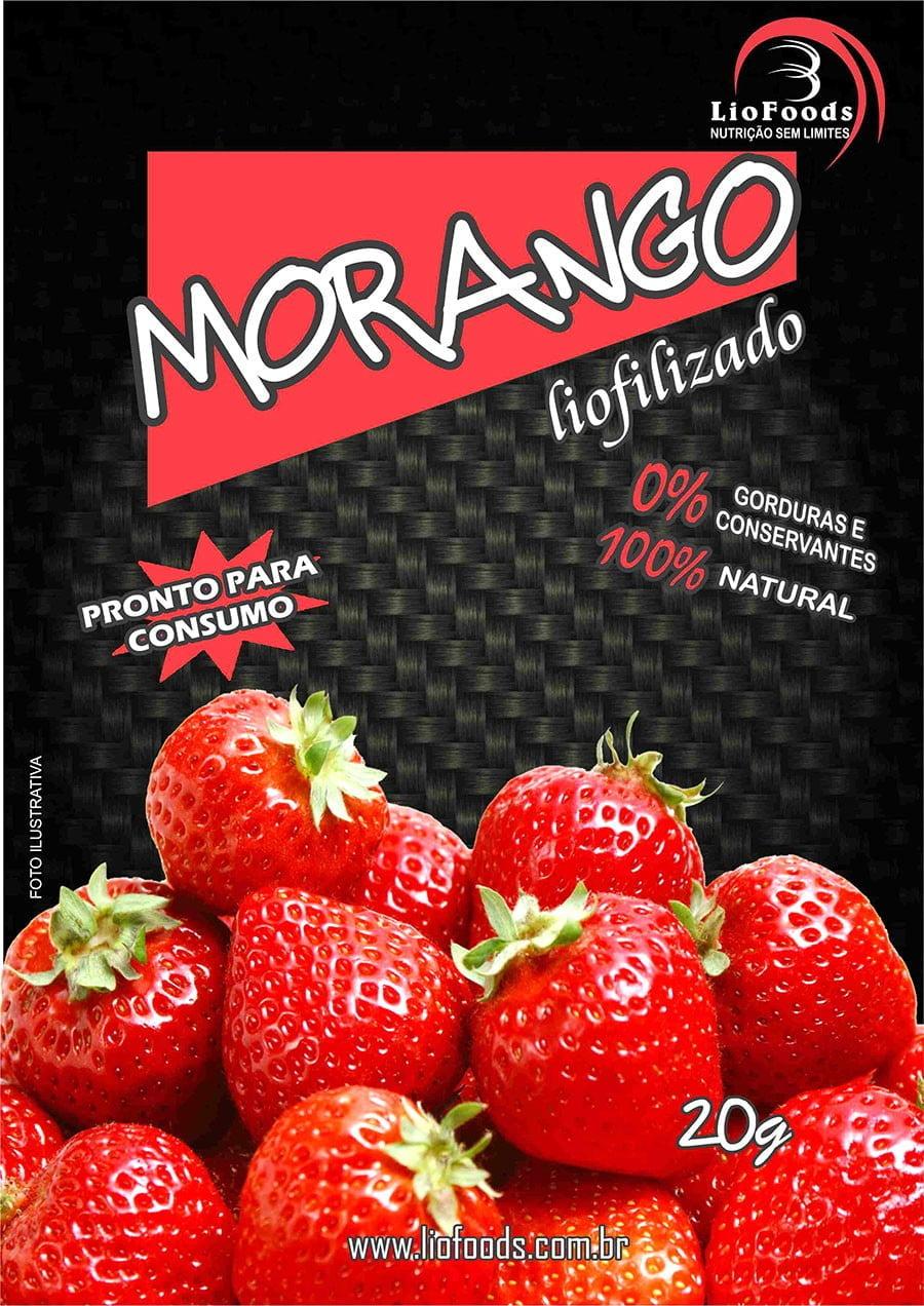 COMIDA LIOFILIZADA MORANGO LIOFOODS