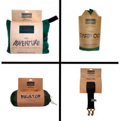 KIT KAMPA COMPLETO - REDE ADVENTURE