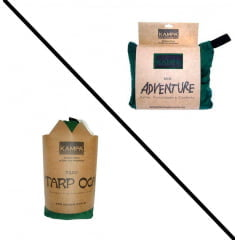 KIT KAMPA REDE ADVENTURE + TARP OCA