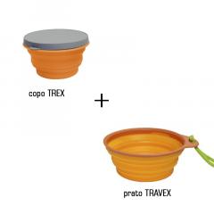 KIT COZINHA TREX + TRAVEX