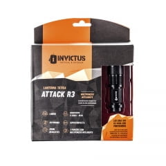 LANTERNA LED TÁTICA ATTACK R3 - INVICTUS