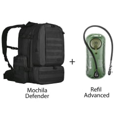 MOCHILA DEFENDER + REFIL DE HIDRATAÇAO ADVANCED