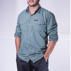 4c28fff6a CAMISA SAFARI MASCULINA - HARD ADVENTURE