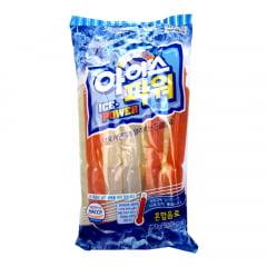 Geladinho Gelinho Coreano Sabor Frutas Sortidas Ice Power - 10 Unidades