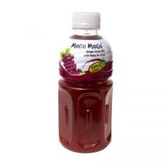 Suco de Uva com pedaços de Nata de Coco Mogu Mogu  – 320 mL