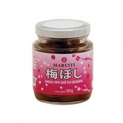 Ameixa Japonesa Umeboshi em Conserva Maruiti 180g