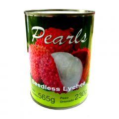 Lichia em Caldas sem Sementes Pearls - 230g Drenado