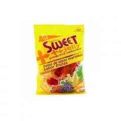 Bala de Alga Marinha Sabor Fruta Tipo Gelatina Sweet Jelly - 200 gramas