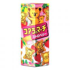 Biscoito Koala com Recheio de Morango Lotte - 49 gramas