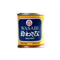 Pimenta Japonesa Wasabi em Pó (Raiz Forte) San Maru Lata - 40g
