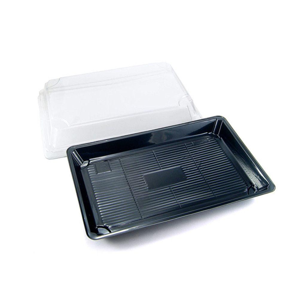 Embalagem Sushi 02 para Servir Comida Japonesa - 100 unidades