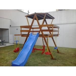 Playground de Madeira - Júnior