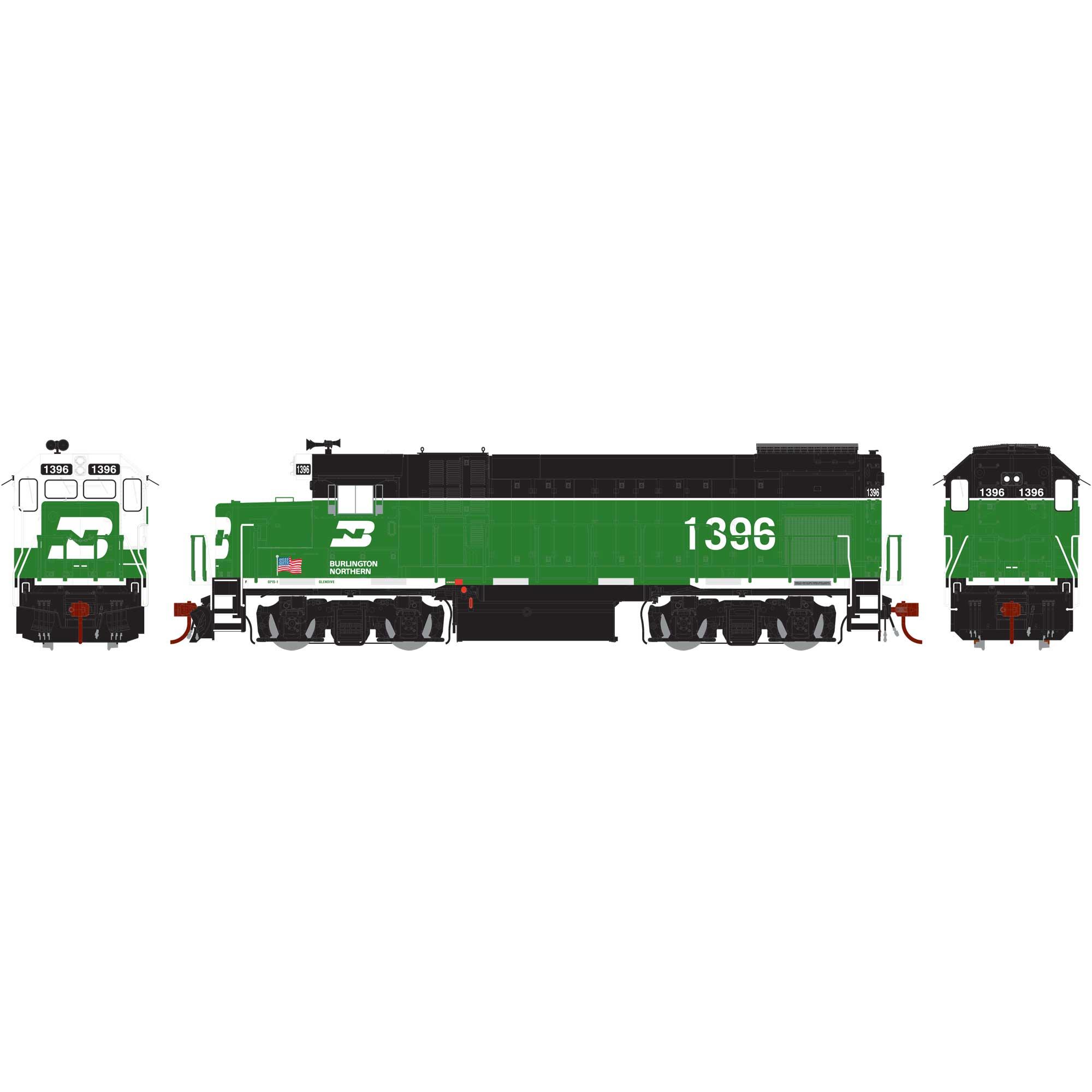 Locomotiva GP15-1