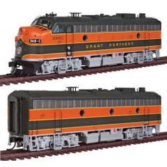 Locomotiva F7 A/B Com Som e DCC