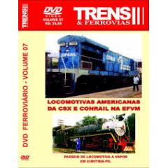 Locomotivas Americanas da CSX e Conrail na EFVM