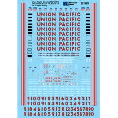 Union Pacific Dash8-40C & SD60M