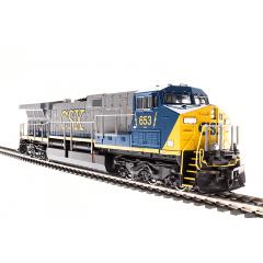 Locomotiva AC6000 SOM  DCC e Fumaça