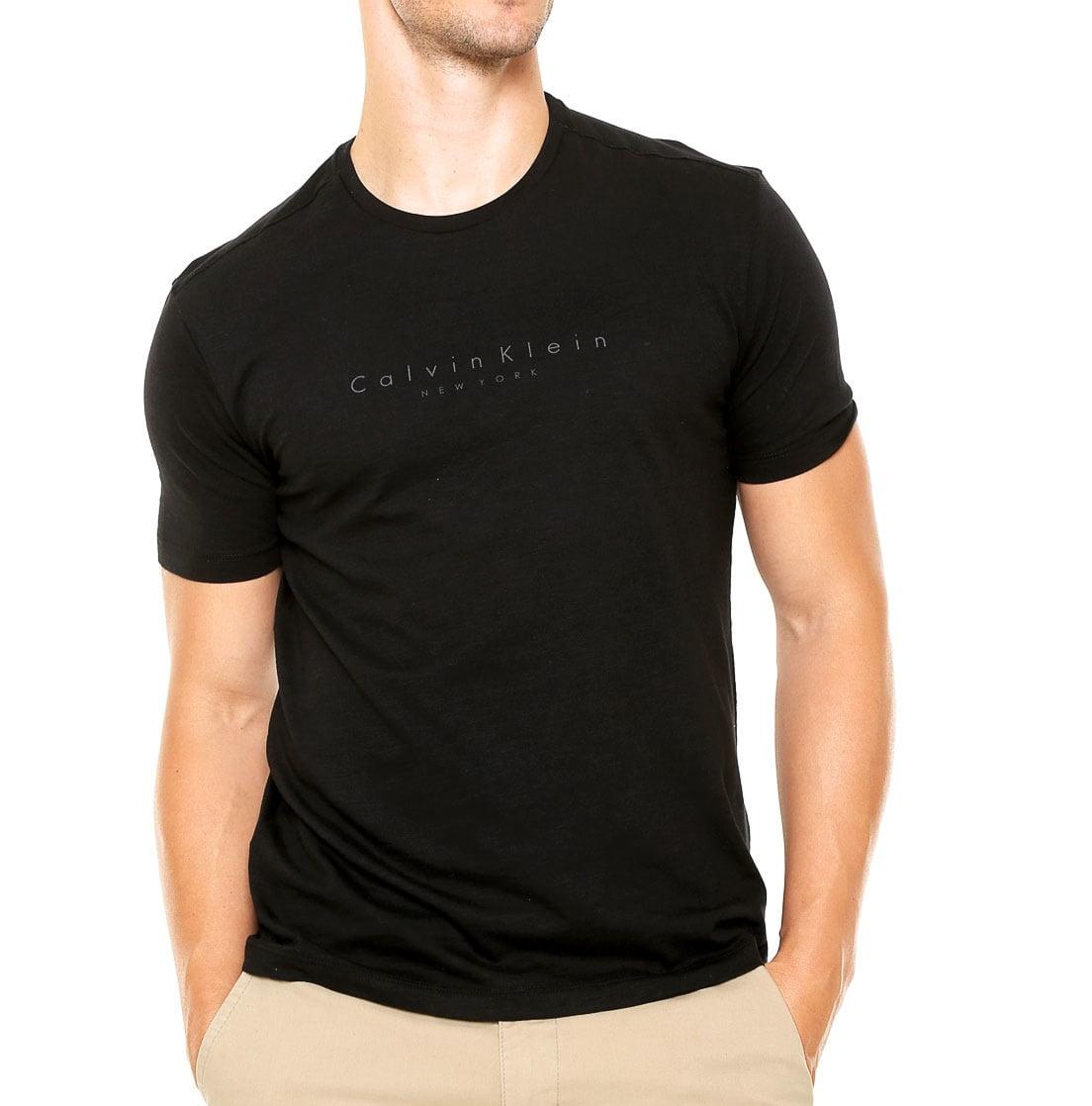 77cbf693ed Camiseta Calvin Klein masculina preta