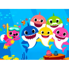 Papel de Arroz Baby Shark